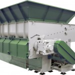 industrial shredder, plastics, recycling