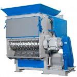 industrial shredder, recycling, plastics