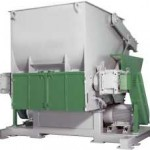 industrial shredder, recycling, plastic