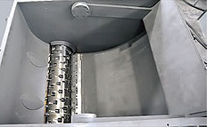 plastic Industrial Shredders feed