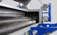 Pipe Profile industrial Shredders feeds